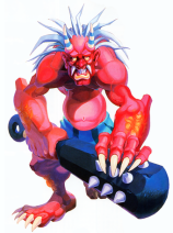 "In reality, the image of the oni is quite grotesque and frightening. Kongou, a character from the game ""Warzard"" I enjoyed playing years ago, is a good representation of how vivid the image of the oni can be."